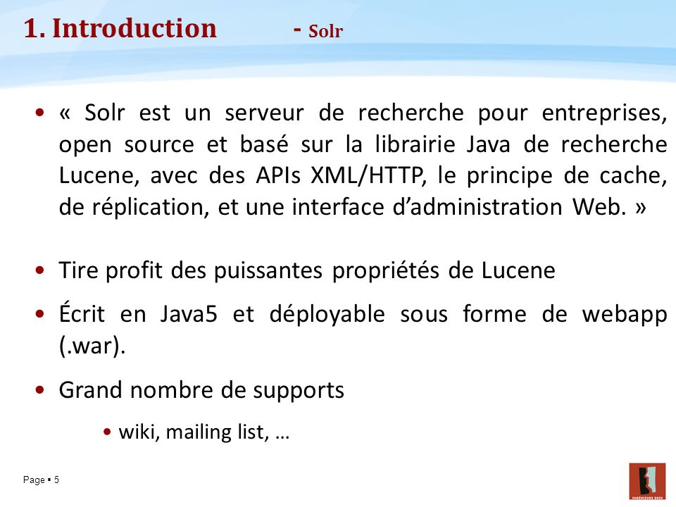 1. Introduction - Solr