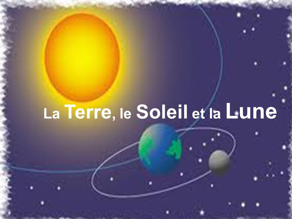 La Terre, le Soleil et la Lune
