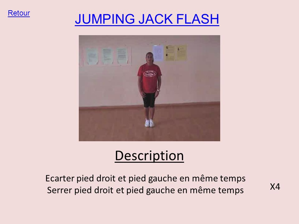 Description JUMPING JACK FLASH