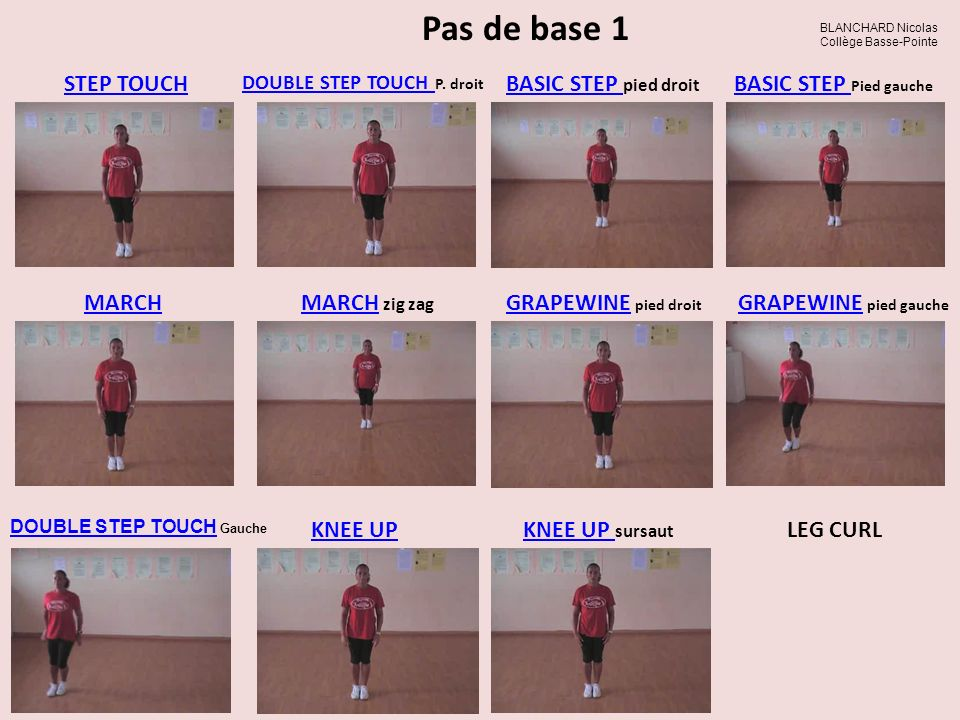 DOUBLE STEP TOUCH P. droit