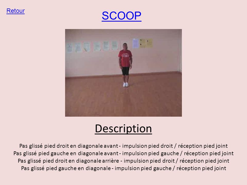Description SCOOP Retour