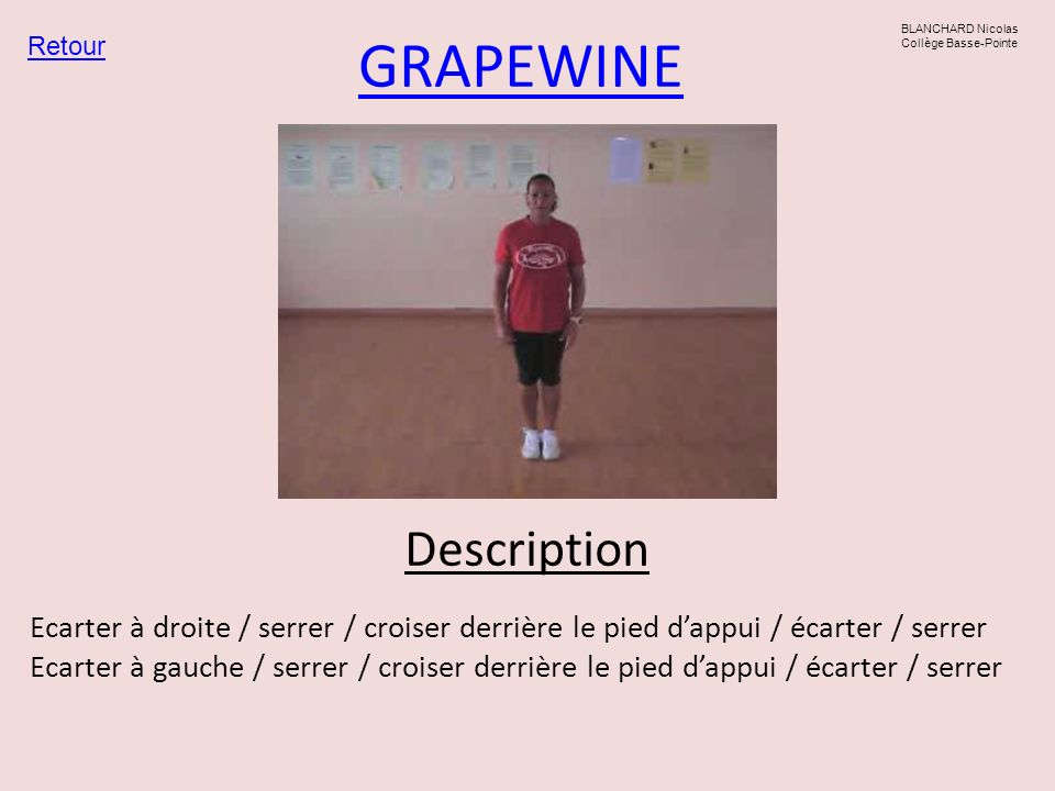 GRAPEWINE Description