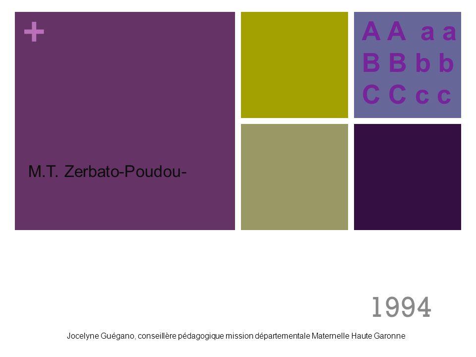 1994 A A a a B B b b C C c c . M.T. Zerbato-Poudou-