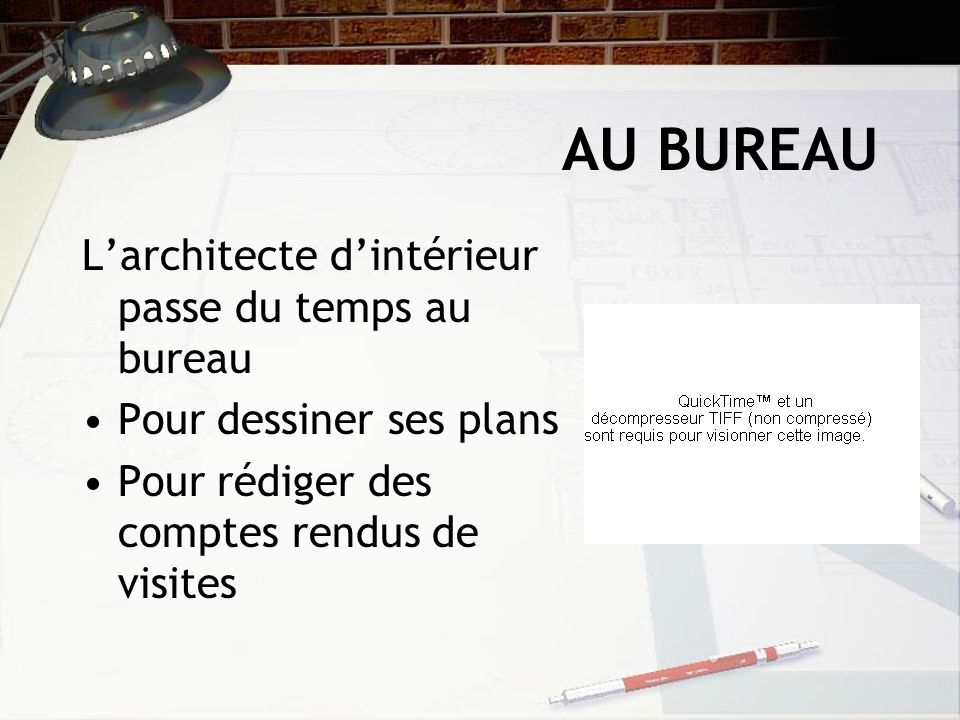 Architecte d int rieur ppt video online t l charger - Architecte d interieur metier ...