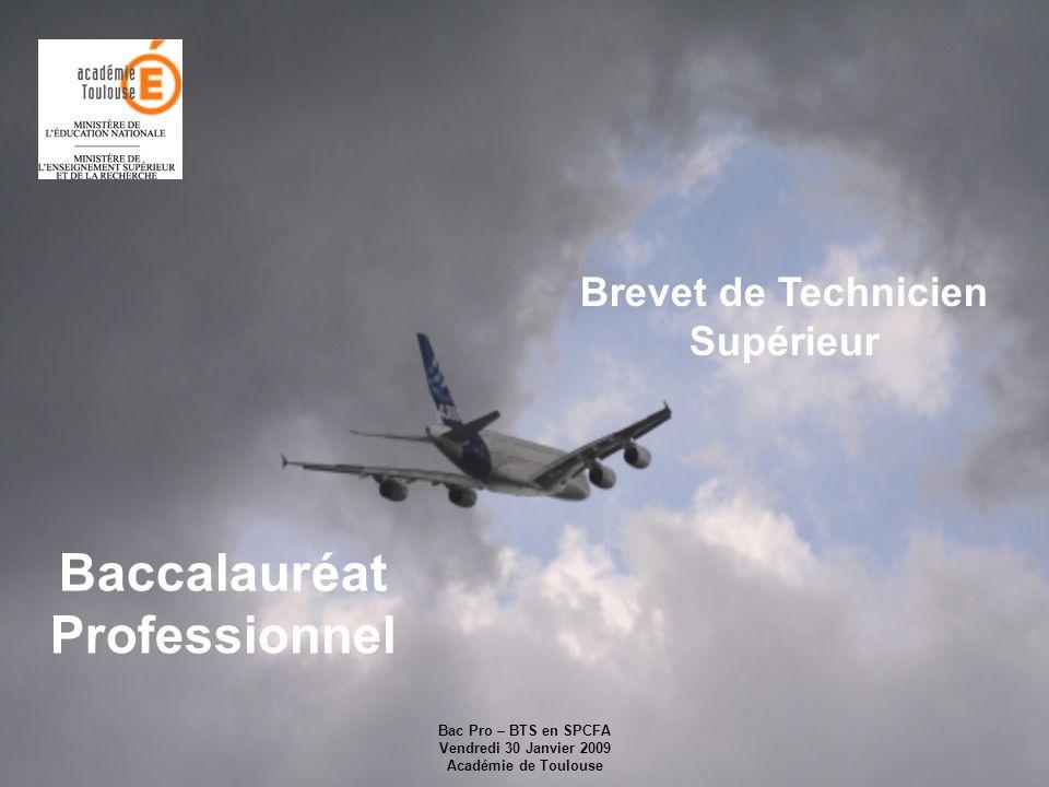 Brevet de Technicien Supérieur Baccalauréat Professionnel