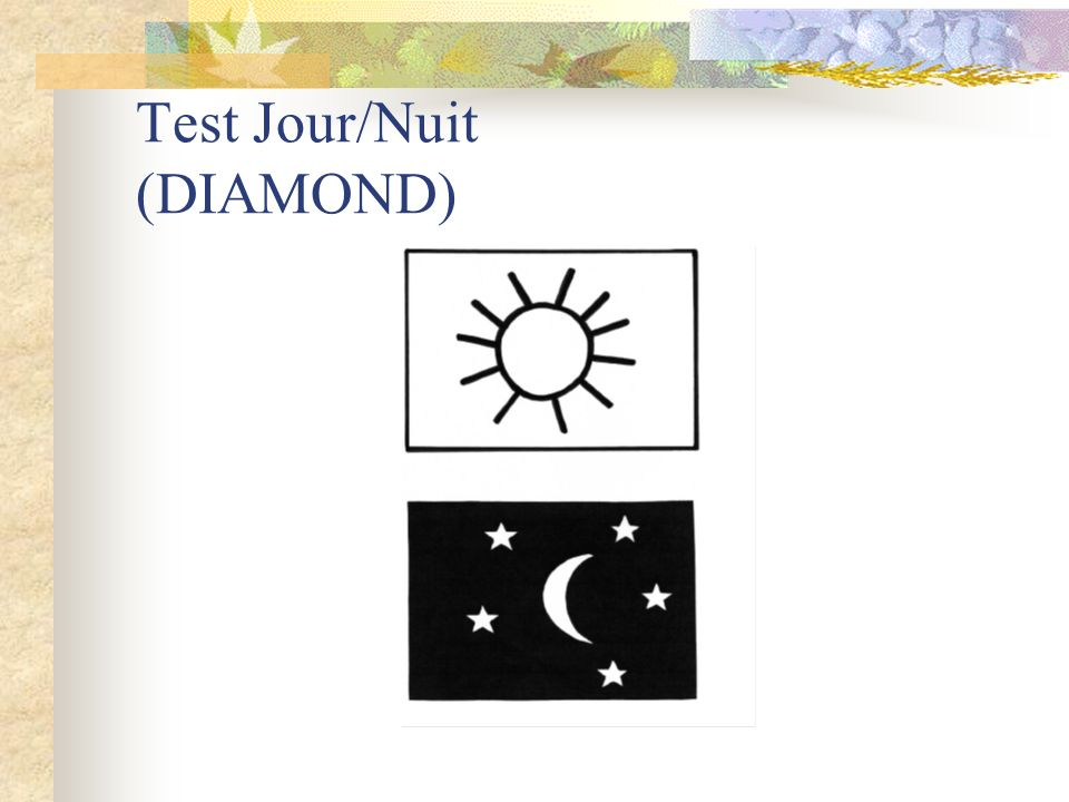 Test Jour/Nuit (DIAMOND)