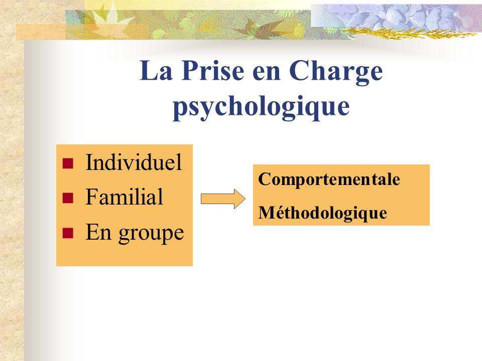 La Prise en Charge psychologique