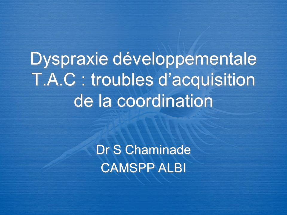 Dr S Chaminade CAMSPP ALBI