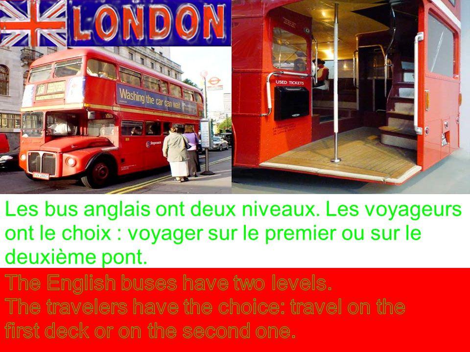Les bus anglais ont deux niveaux