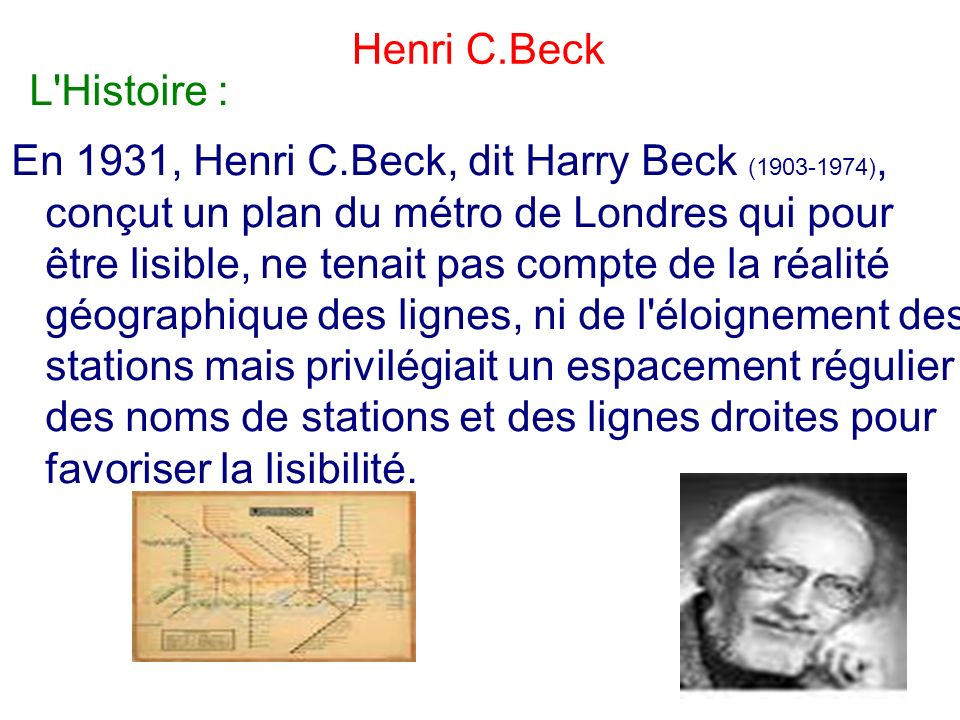 Henri C.Beck L Histoire :