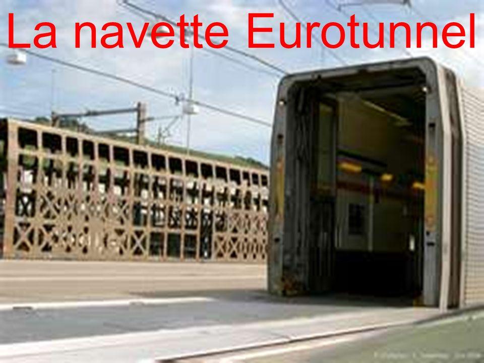 La navette Eurotunnel 26/03/2017