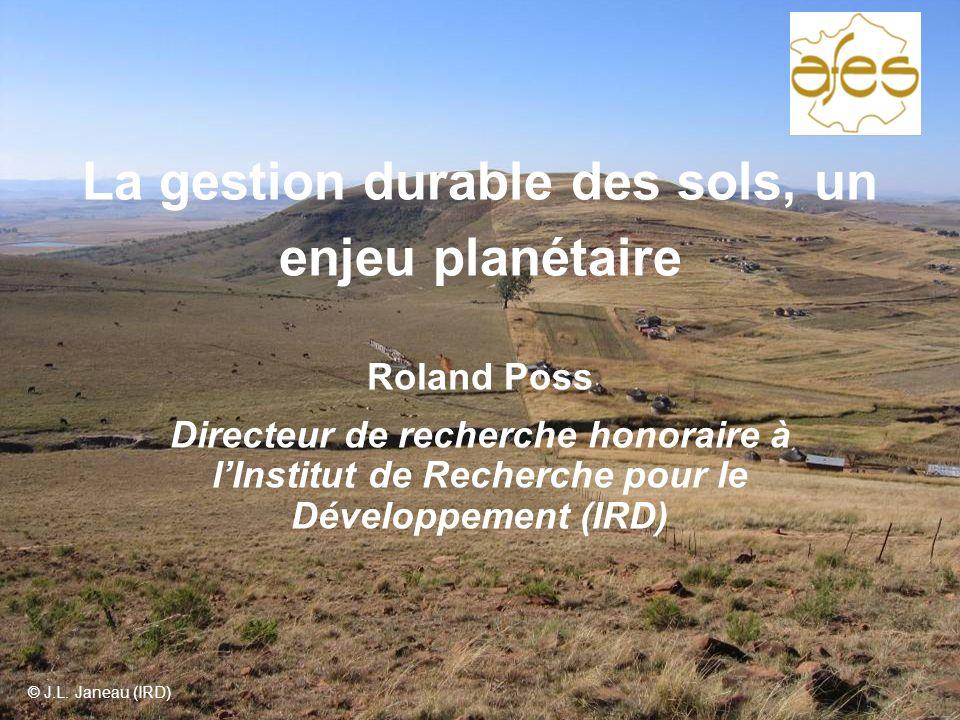 La gestion durable des sols, un enjeu planétaire