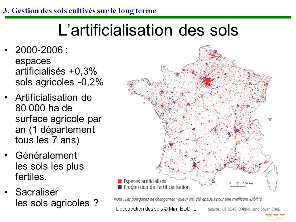 L'artificialisation des sols