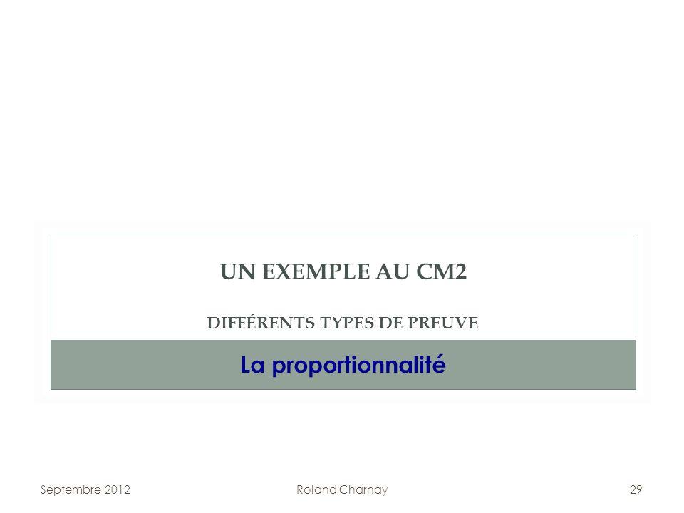 UN EXEMPLE AU CM2 DIFFÉRENTS TYPES DE PREUVE