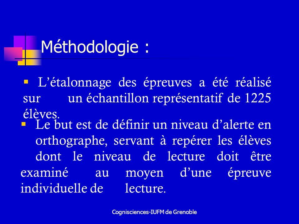 Cognisciences-IUFM de Grenoble