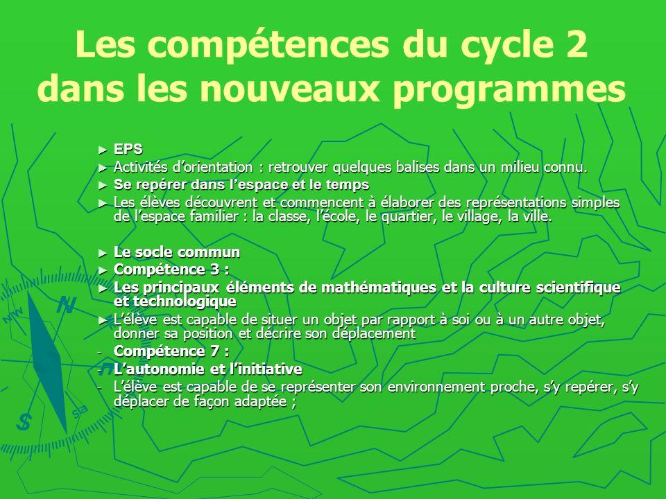 Les compétences du cycle 2 dans les nouveaux programmes