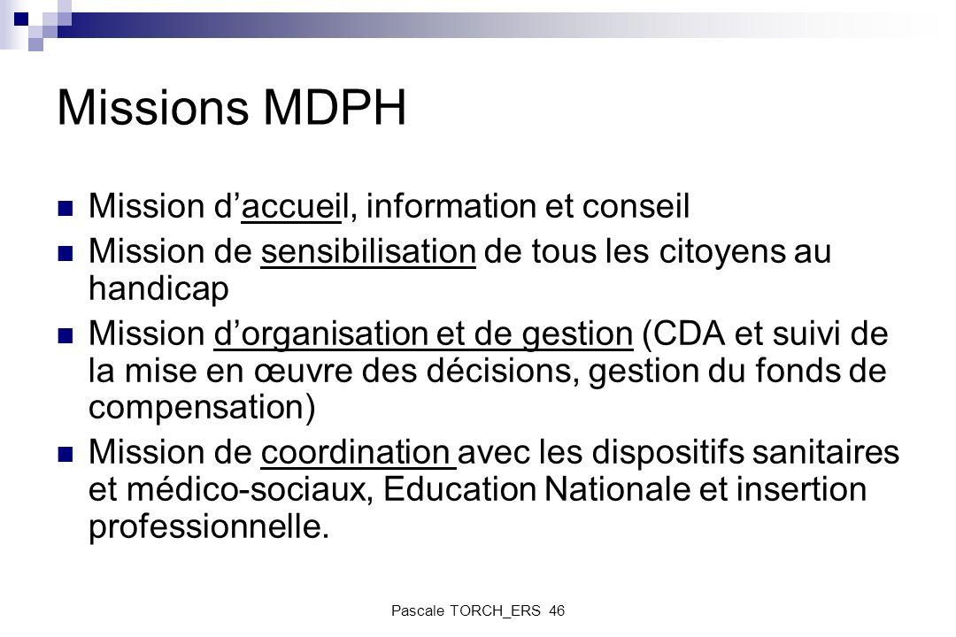 Missions MDPH Mission d'accueil, information et conseil