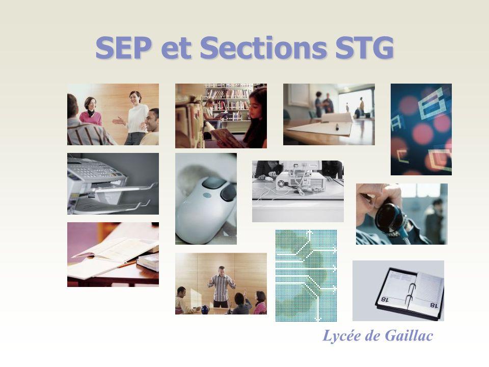 SEP et Sections STG Lycée de Gaillac