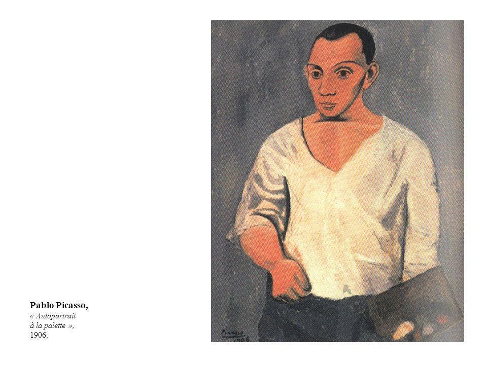 Pablo Picasso, « Autoportrait à la palette », 1906.