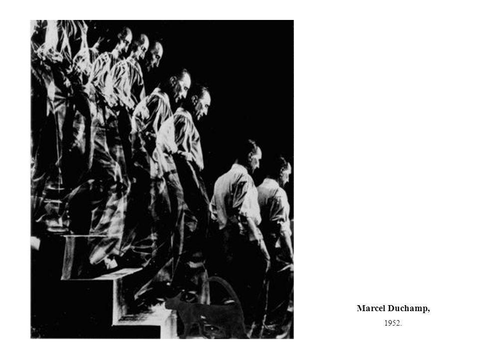 Marcel Duchamp, 1952.