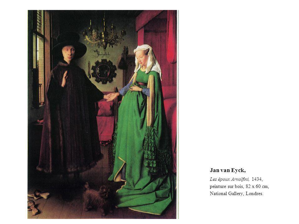 Jan van Eyck, Les époux Arnolfini, 1434,