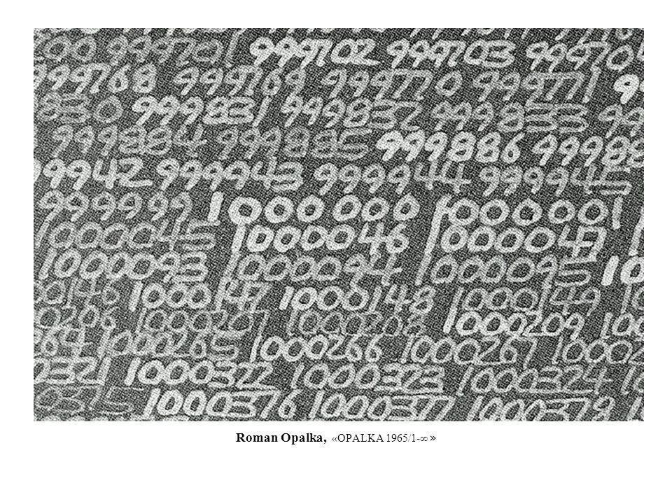 Roman Opalka, «OPALKA 1965/1-∞ »