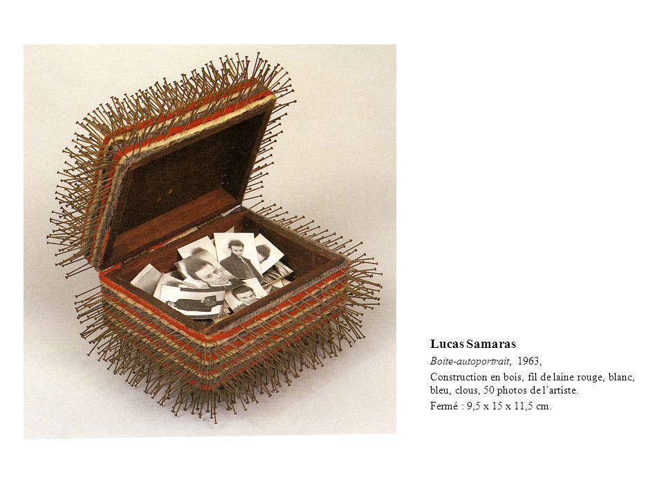 Lucas Samaras Boite-autoportrait, 1963,