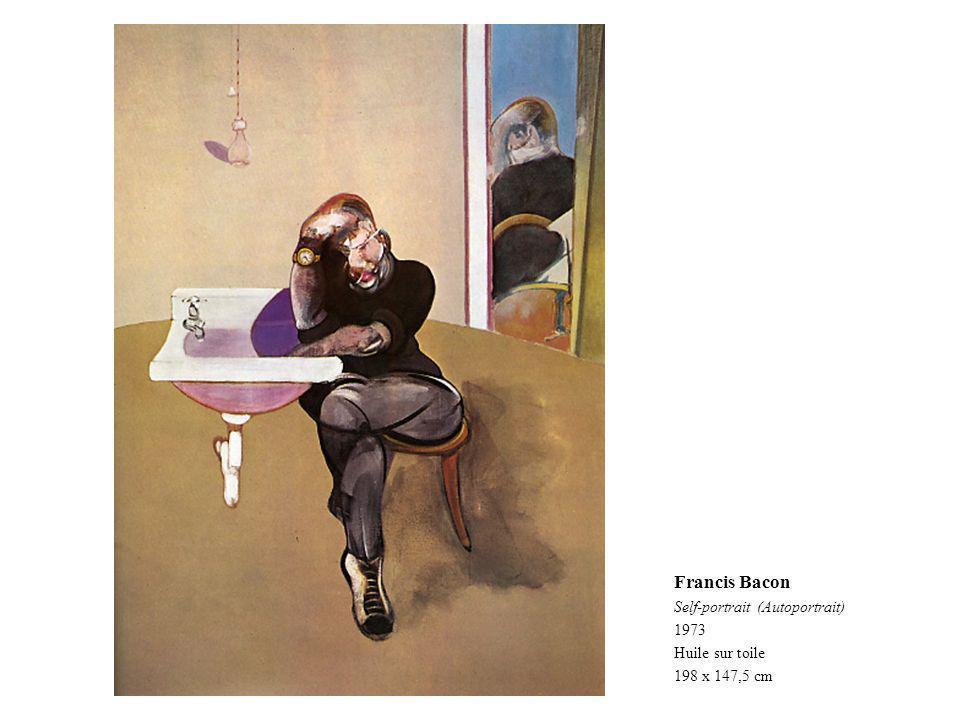 Francis Bacon Self-portrait (Autoportrait) 1973 Huile sur toile