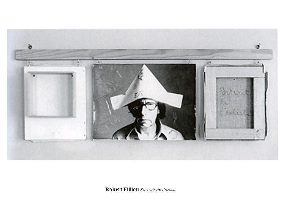 Robert Filliou Portrait de l'artiste