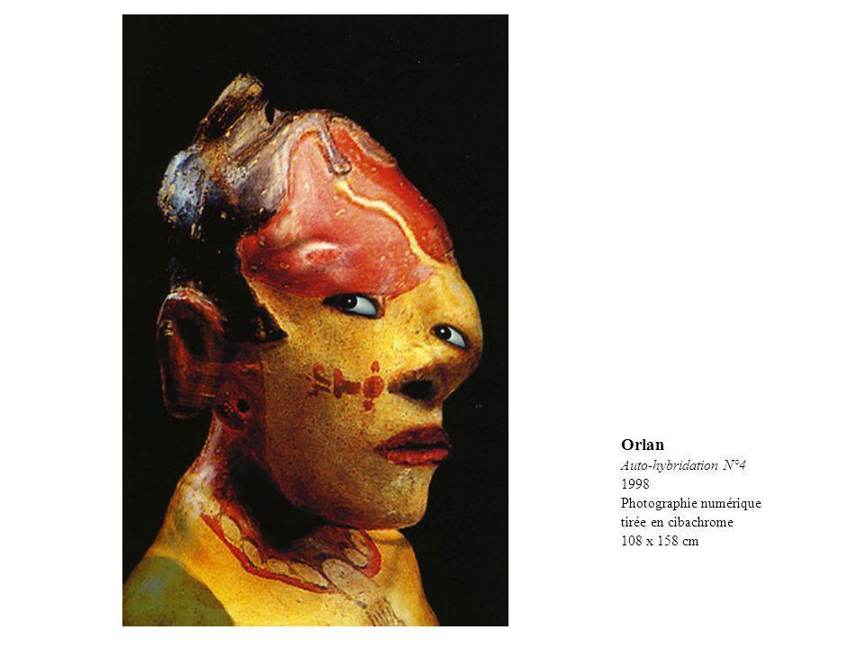 Orlan Auto-hybridation N°4 1998 Photographie numérique
