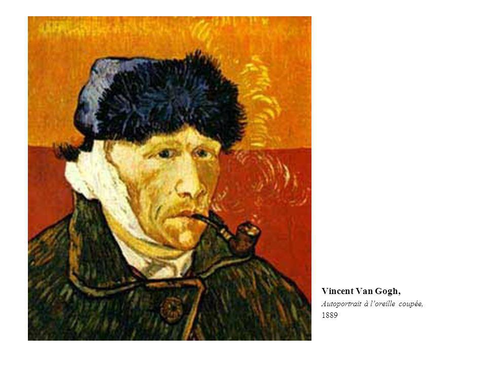 Autoportrait or tout para t ppt video online t l charger - Van gogh autoportrait oreille coupee ...