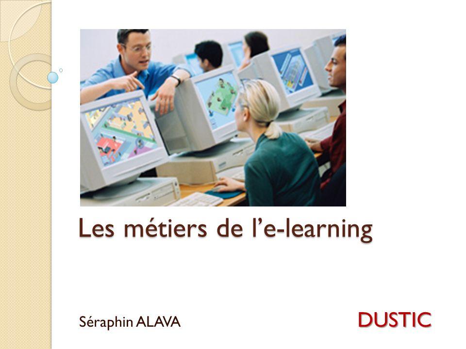 Les métiers de l'e-learning