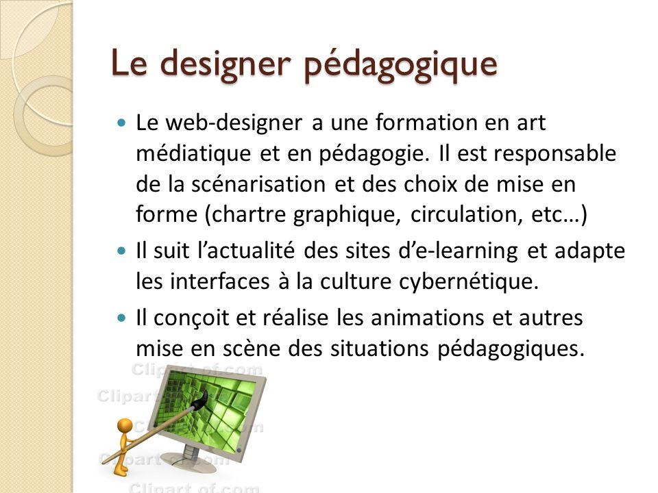 Le designer pédagogique