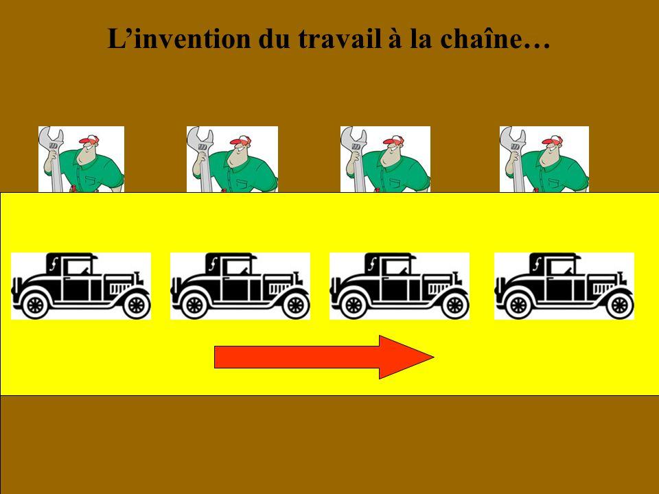 L'invention du travail à la chaîne…
