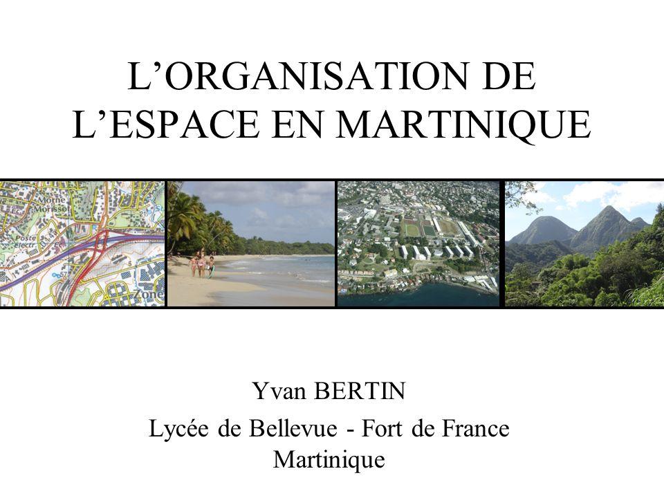 L'ORGANISATION DE L'ESPACE EN MARTINIQUE