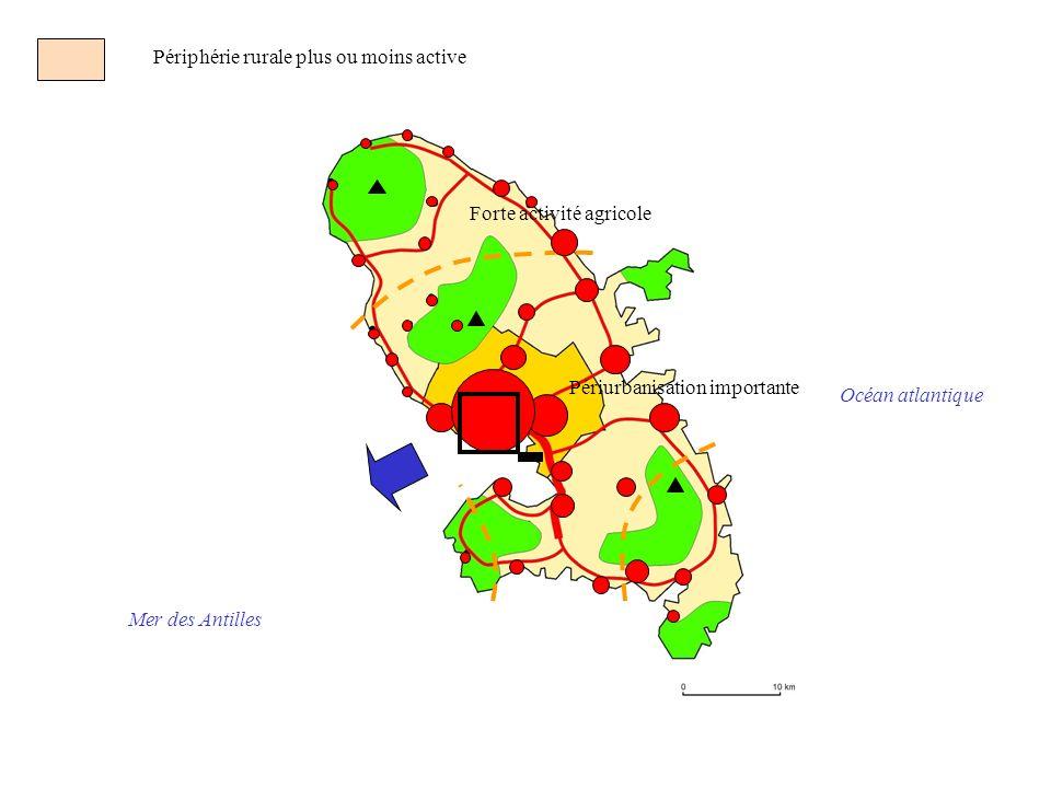 Périphérie rurale plus ou moins active