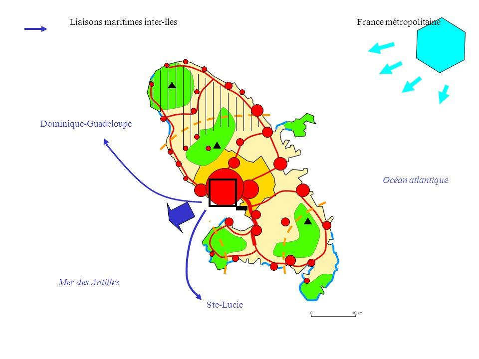 Liaisons maritimes inter-îles