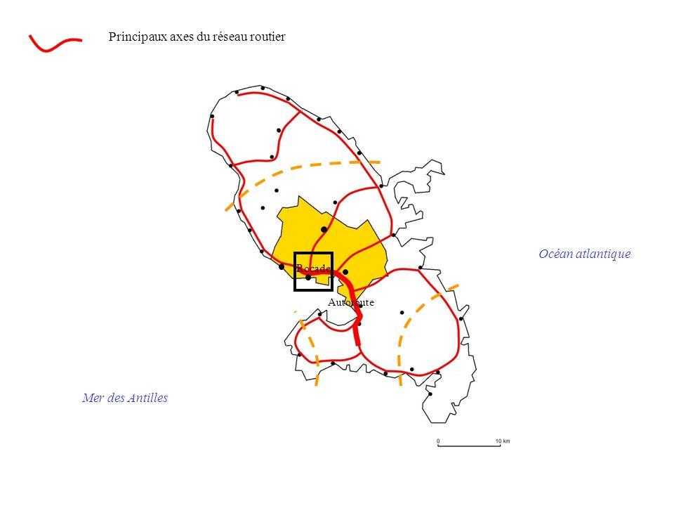 Principaux axes du réseau routier