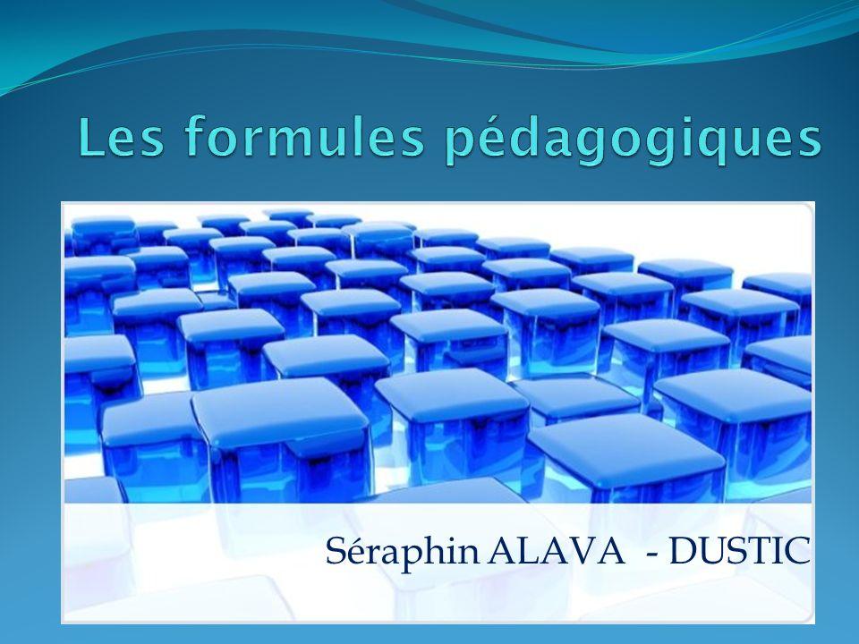 Les formules pédagogiques