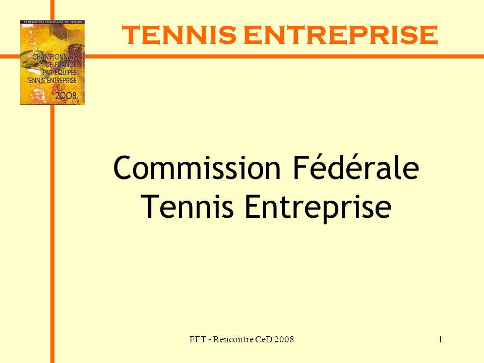 Commission Fédérale Tennis Entreprise