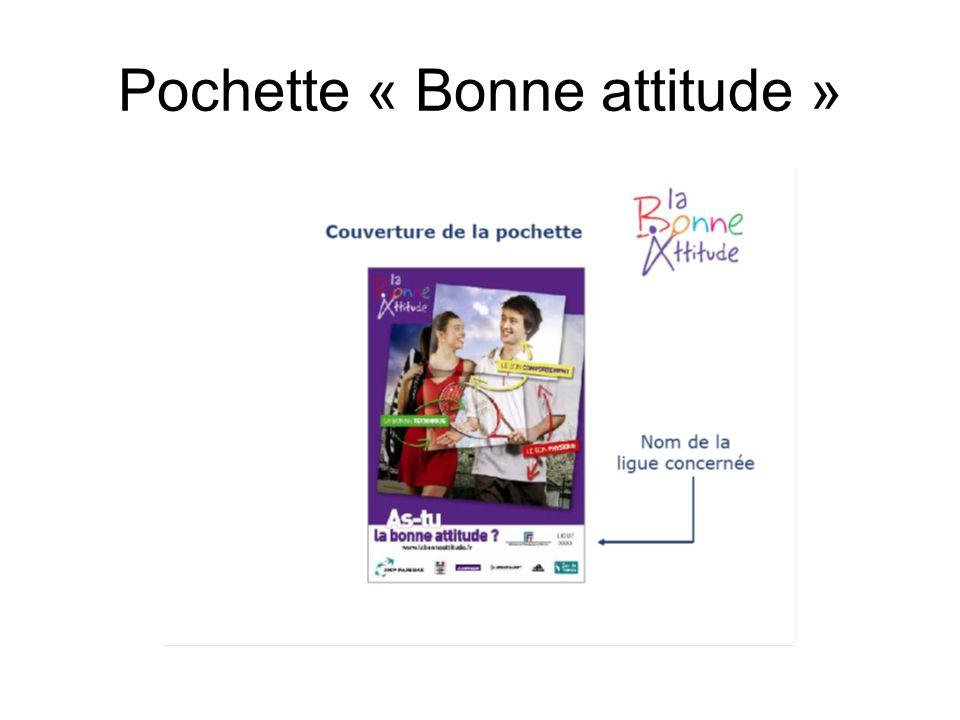 Pochette « Bonne attitude »
