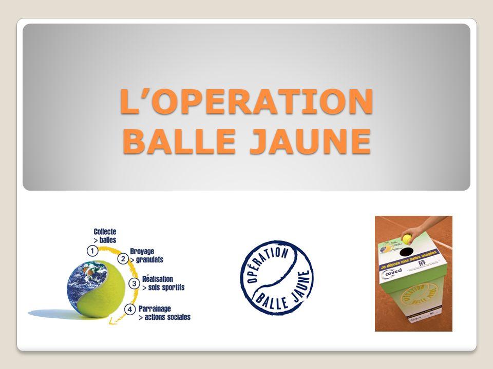 L'OPERATION BALLE JAUNE