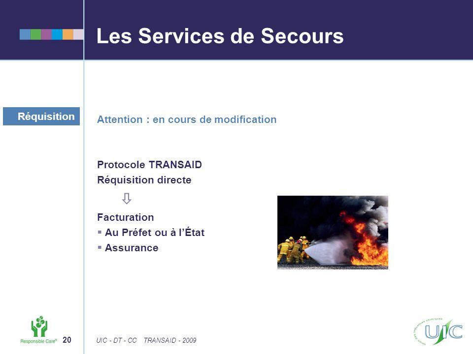 Les Services de Secours