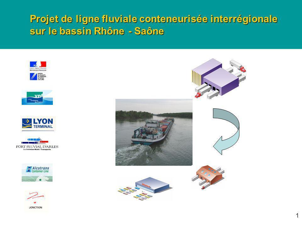Projet de ligne fluviale conteneurisée interrégionale