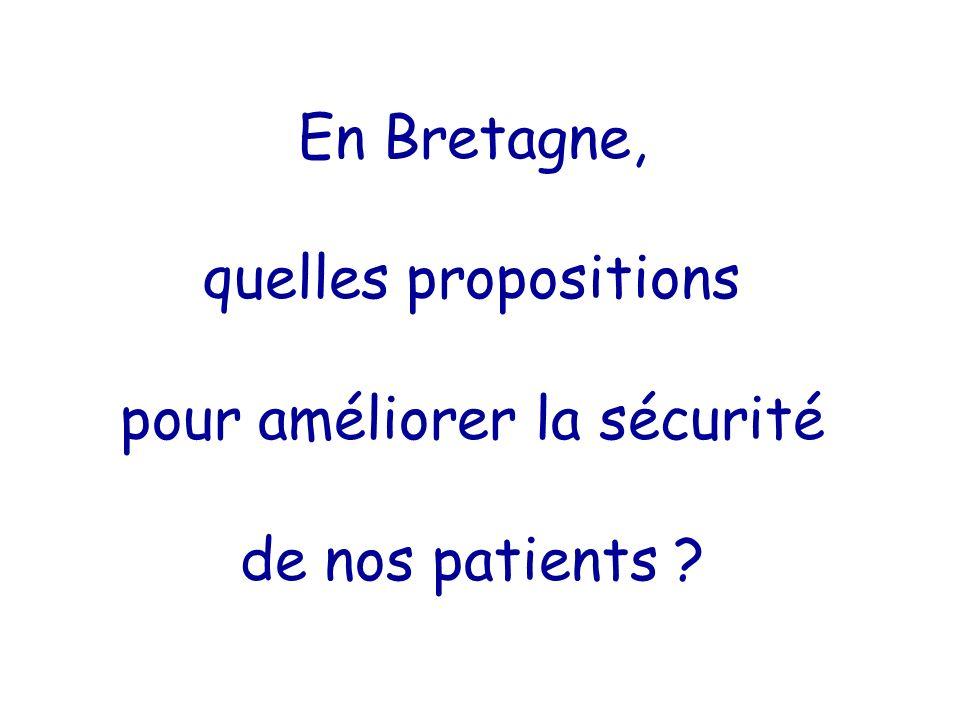 En Bretagne, quelles propositions pour améliorer la sécurité de nos patients