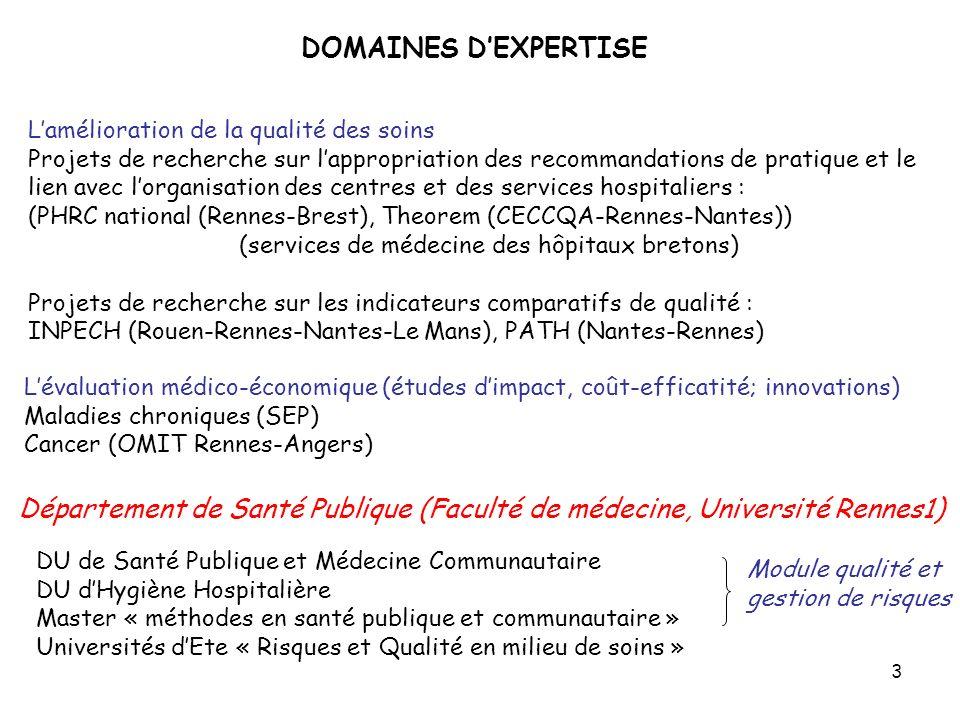 (services de médecine des hôpitaux bretons)