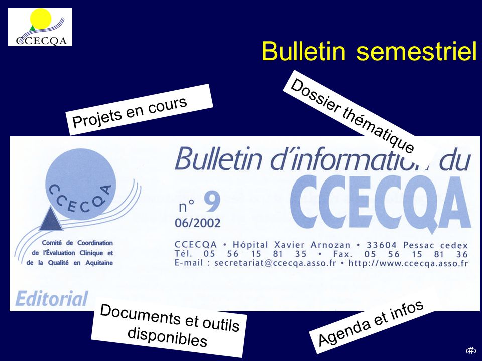 Documents et outils disponibles