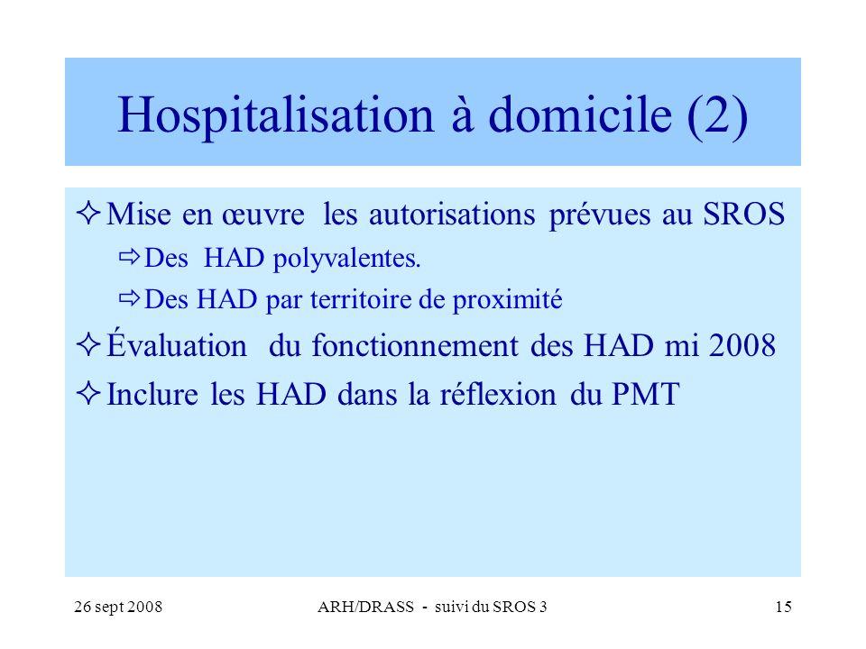 Hospitalisation à domicile (2)