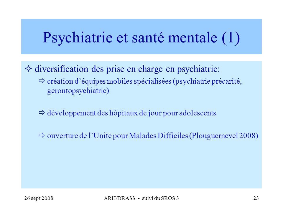Psychiatrie et santé mentale (1)