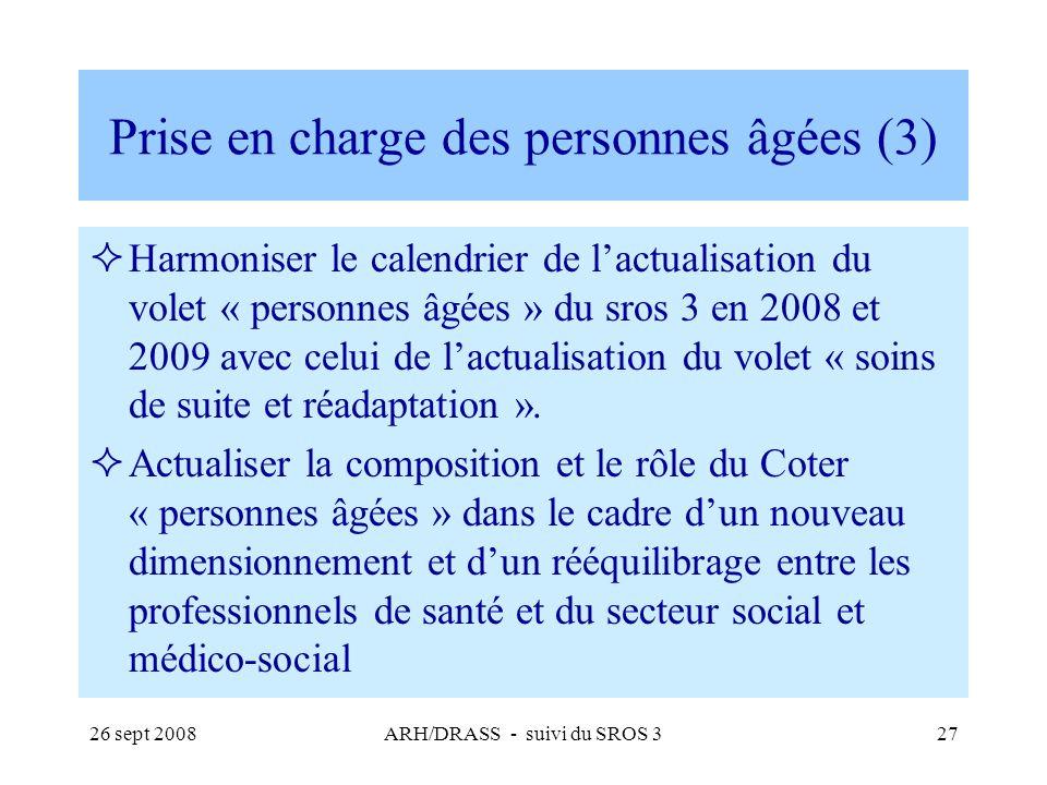 Prise en charge des personnes âgées (3)